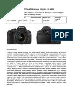 Astrofotografia Con Canon Eos 550D
