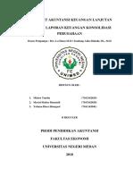 Mini Riset Akuntansi Keuangan Lanjutan