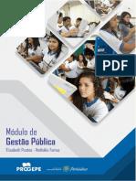 PROGEPE 2019 - Módulo 1 - Gestão Pública