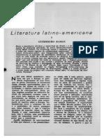 Literatura Latino Americana