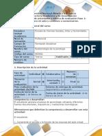 Guía de Actividades y Rúbrica de Evaluación - Paso 1 - Reconozco Mi Aula y Aprendo a Comunicarme.