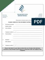 Lsnp Complaint Form 2016