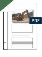 Especificaciones Tecnicas de Maquinarias