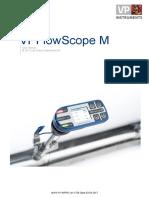 Manual VPFlowScope M