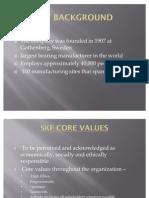 SKF Code of Conduct