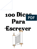 100 Dicas Para Escrever