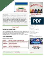 PCAS Newsletter 2-08-2019