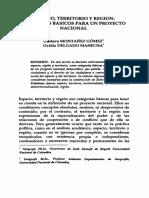 ESPACIO, TERRITORIO Y REGION - GUTAVO MONTAÑEZ GOMEZ & OVIDIO DELGADO MAHECHA.pdf