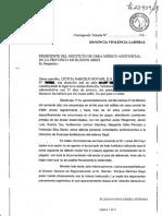 """Trabajadora denunció a funcionario de IOMA por """"violencia laboral"""""""
