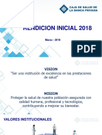 Informe de Gestion Inicial 2018