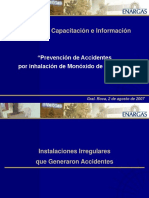 Prevención de Accidentes Por Inhalación de Monoxido de Carbono