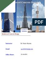 Reinforced Concrete Design I Nader Okasha