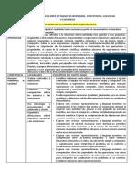 4º Grado Analiis de La Coherencia Entre Estandar de Aprendizaje