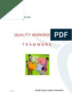 Quality Workbook Teamwork