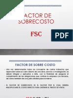 Factor de Sobrecosto