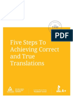 APEX Achieving Correct and True Translations