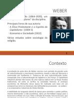 257897-4. Sociologia de Weber