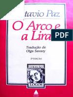 99149378 Octavio Paz O Arco e a Lira COMPLETO