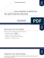 6. INDG1019_Métodos Para Resolver Problemas de Optimización Discreta - Parte I