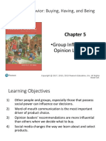 Chapter 5 Group Influence and Opinion Leadership