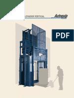 Diseño y Fabricación Elevador de Carga