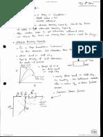 Bearing Capacity - Foundation (first 2006/2007)
