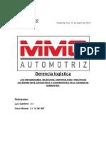 Informe de Gerencia Logistica (Tema 02)