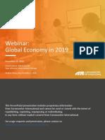 Webinar Global Economy in 2019 - Euromonitor