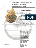 Use of Force Investigation -- Pulse Nightclub Shooting
