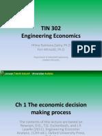 #1 the Economic Decision Making Process