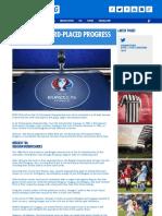 EURO 2016 - Third-Placed Progress - Ashley Cox for Kitbag