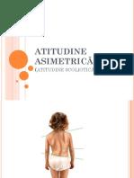 ATITUDINE ASIMETRICĂ