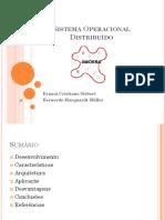Sistema Operacional Distribuído Amoeba (2)