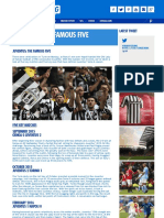 Juventus - The Famous Five - Ashley Cox for Kitbag