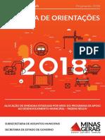 Cartilha Orientações Padem 2018