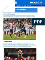 Real vs Atlético - UEFA Champions League Final Preview - Ashley Cox for Kitbag