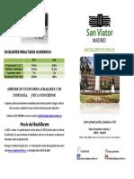 Información Bachillerato Colegio San Viator Madrid