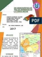Analisis geoestadistico de cuenca moche