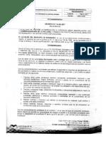 Decreto. 112 de 2017 Sobre Uso y Comercialización de La Pólvora