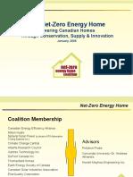 Net Zero Energy Home Coalition