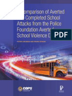 Comparison of averted and completed school attacks