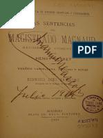 sentencias Del Magistrado Magnaud