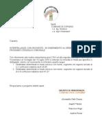 Interpellanza Regali 30-08-2010