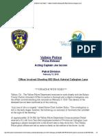 Willie McCoy Police Statement