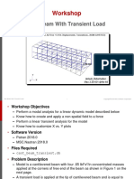 Box Beam With Transient Load