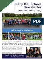Amery Hill School Newsletter Autumn Term 2017