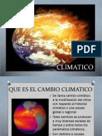 16. Cambio Climatico