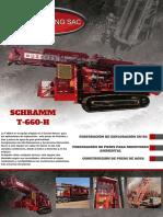 Ficha Técnica Schramm t660h