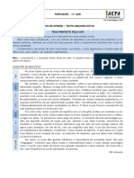11º Texto de opinião - ex. + TPC