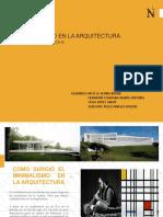 Minimalismo en La Arquitectura